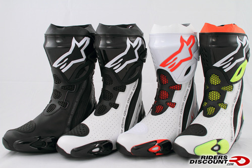 alpinestars supertech r boots updated for 2011 riders discount. Black Bedroom Furniture Sets. Home Design Ideas