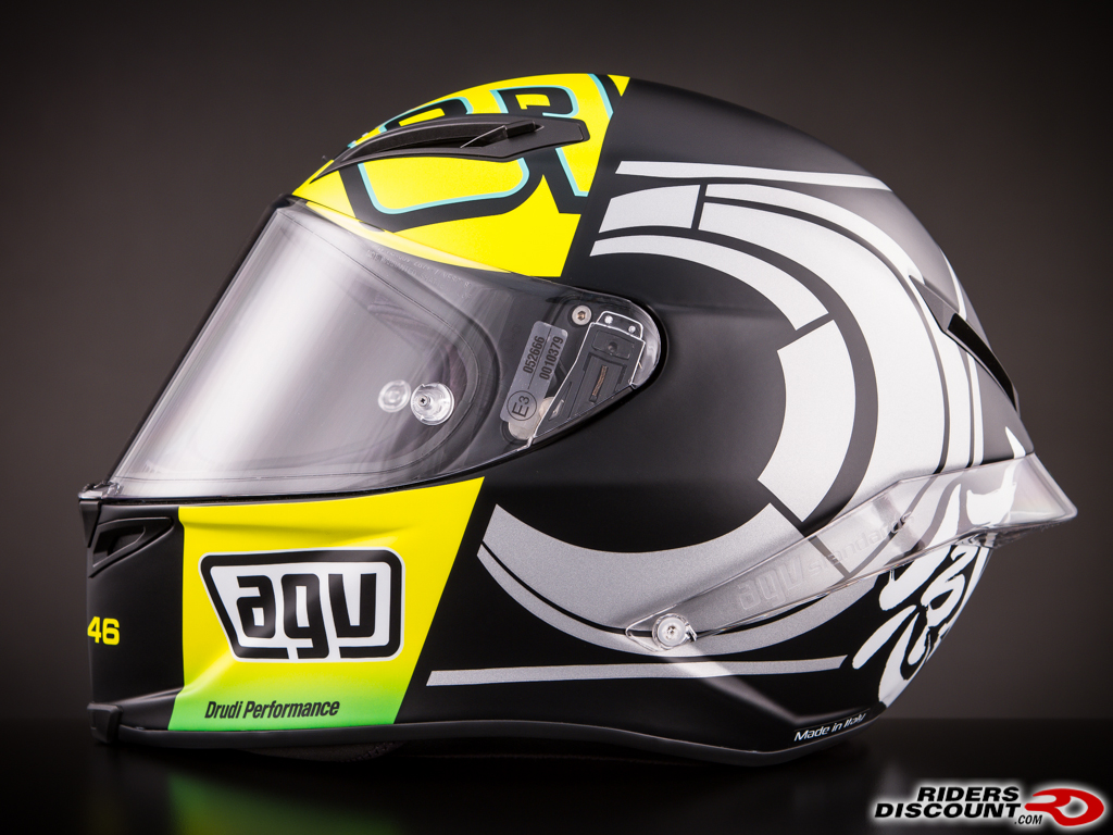 agv corsa valentino rossi winter test limited edition. Black Bedroom Furniture Sets. Home Design Ideas