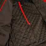 Removable thermal liner provides warmth on those cool morning or late evening rides.