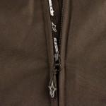 The Alpinestars Gunner jacket uses YKK zippers.