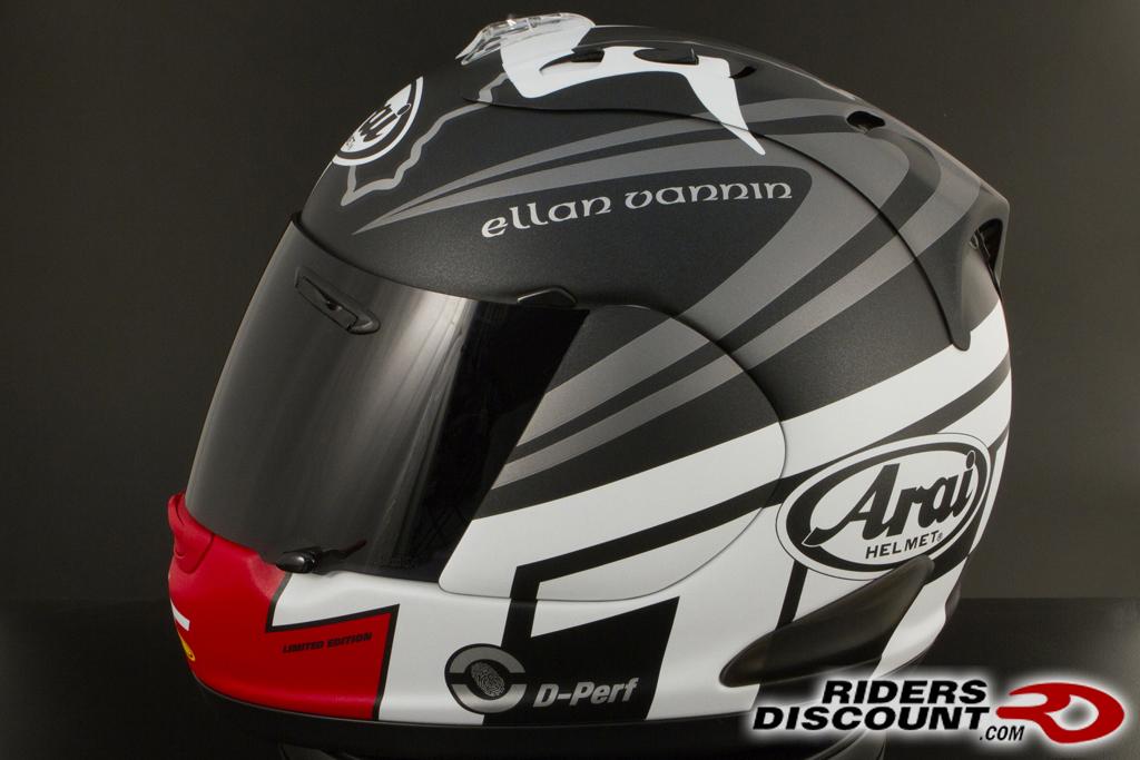 Arai Corsair V Isle Of Man Tt 2014 Le Helmet Riders Discount