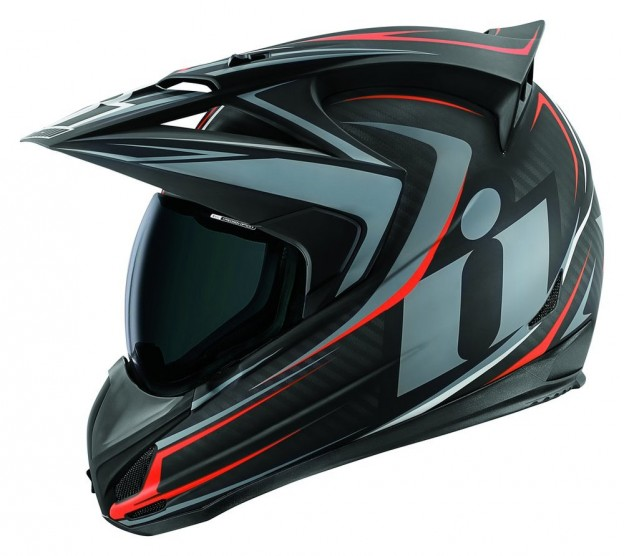 ICON VARIANT RAIDEN DUAL SPORT FULL FACE MOTORCYCLE HELMET WITH ANTI-LIFT VISOR - Click Image to Purchase