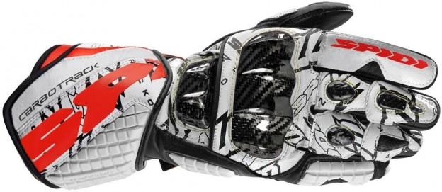 Spidi Sport Mens Carbo Track Dovi Replica Leather Gloves - Click Image to Purchase