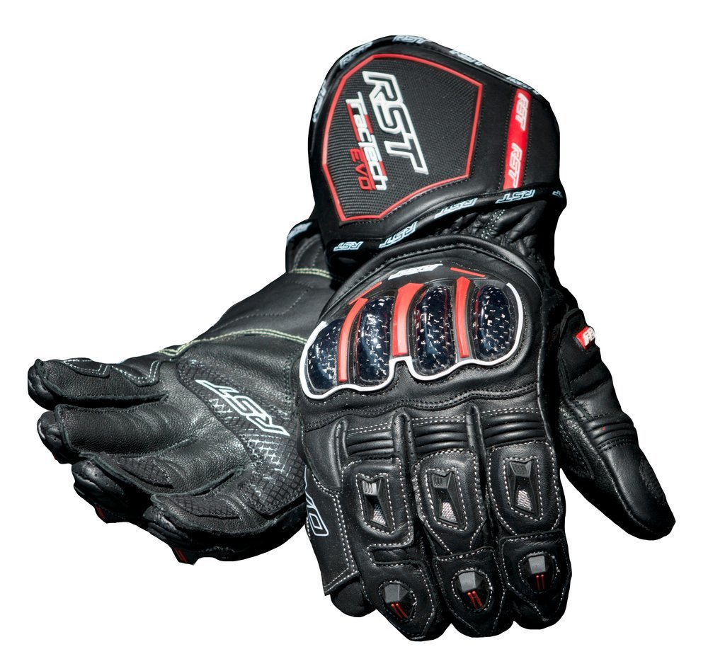 RST Mens Tractech EVO Leather Gloves - Click Image to Purchase