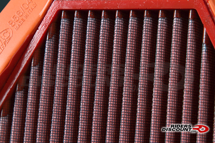 fm85604race01 The air filter featured in the photos is the BMC Race Air Filter FM856/04RACE - Call to Order