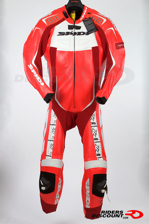 Spidi Sport Mens Track Wind Pro Replica 1 Piece Leather Suit