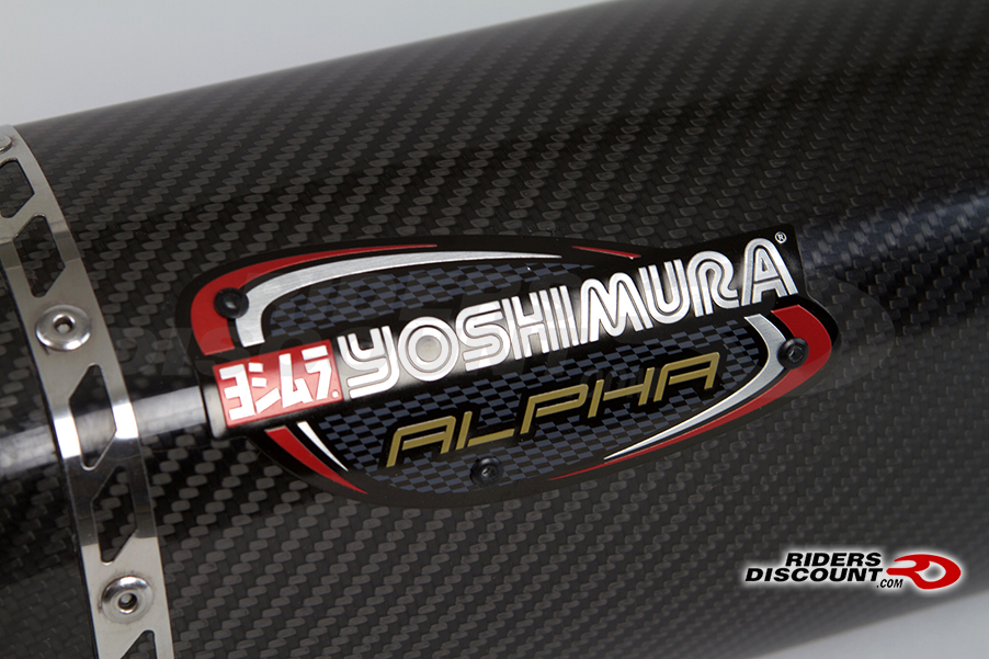 Yoshimura Alpha Race Exhaust Muffler with Midpipe Stainless/Carbon YZF-R1 2015 - Click Image to Purchase