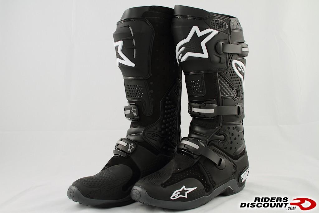 10 BLACK Alpinestars Tech-3 Enduro Boots