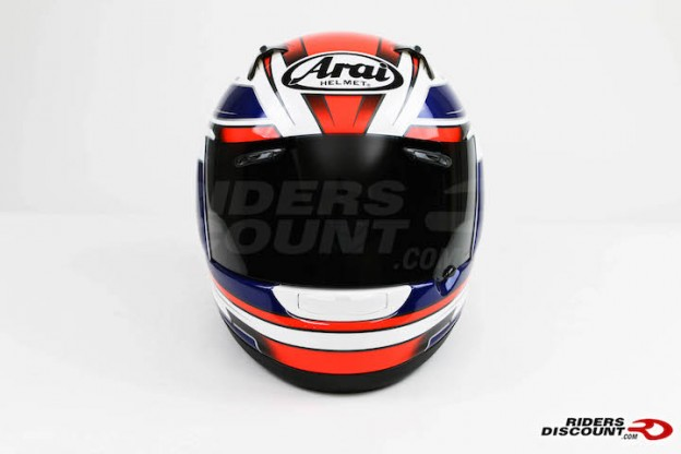 Arai RX-Q Electric Tri Color Helmet