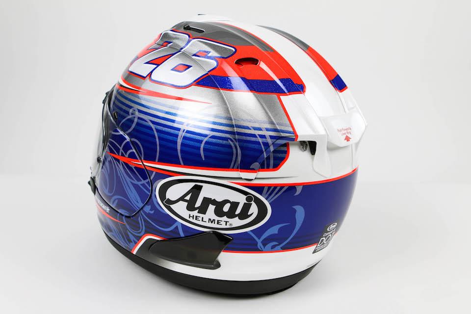 Arai Corsair-X Dani-4 Helmet - Click Item to Purchase