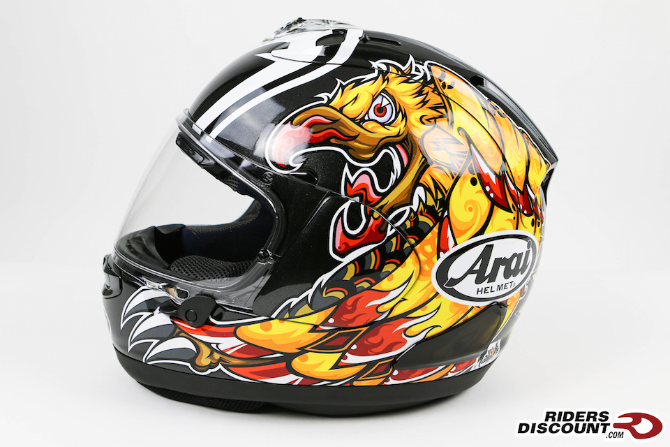Arai Corsair-X Nakasuga Replica - Click Image to Purchase - MSRP $969.95