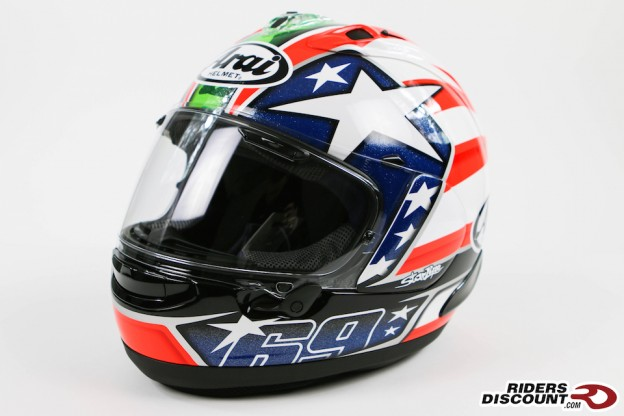 Arai Corsair-X Nicky-6 Replica Helmet