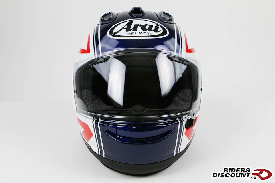 Arai Corsair-X White Statement Helmet - Click Image to Purchase