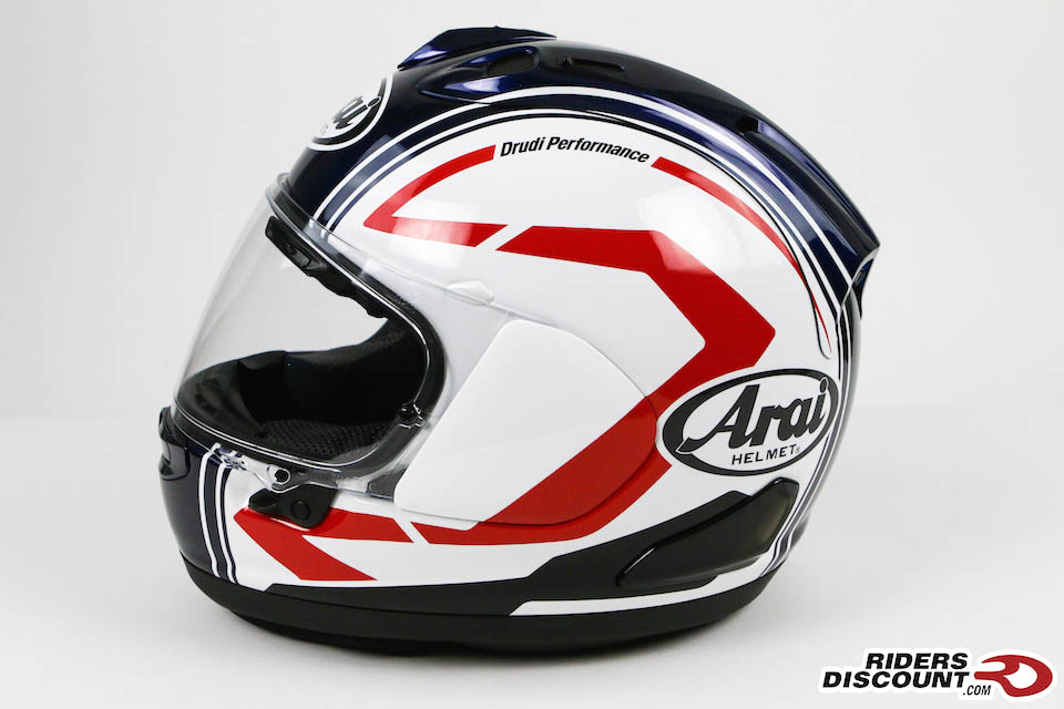 Arai Corsair-X White Statement Helmet - Click Image to Purchase - MSRP $969.95