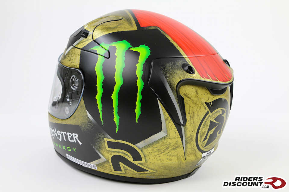 HJC RPHA 10 Pro Jorge Lorenzo Sparteon Replica Helmet - Click Image for More Information