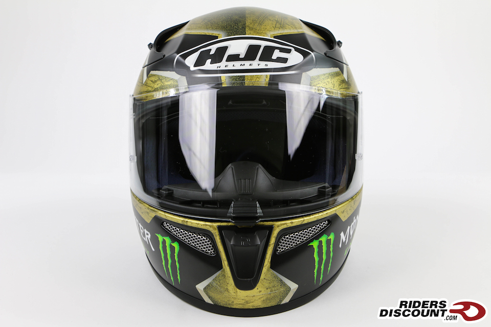 HJC RPHA 10 Pro Jorge Lorenzo Sparteon Replica Helmet - Click Image for More Information - MSRP $569.99