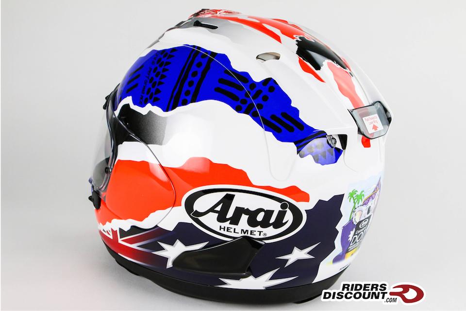 Arai Corsair-X Doohan Star-2 Helmet - Click Image To Order