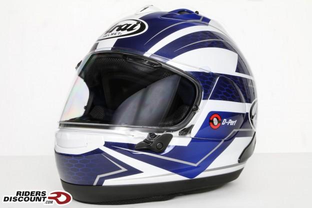Arai Corsair-X Curve Blue Helmet