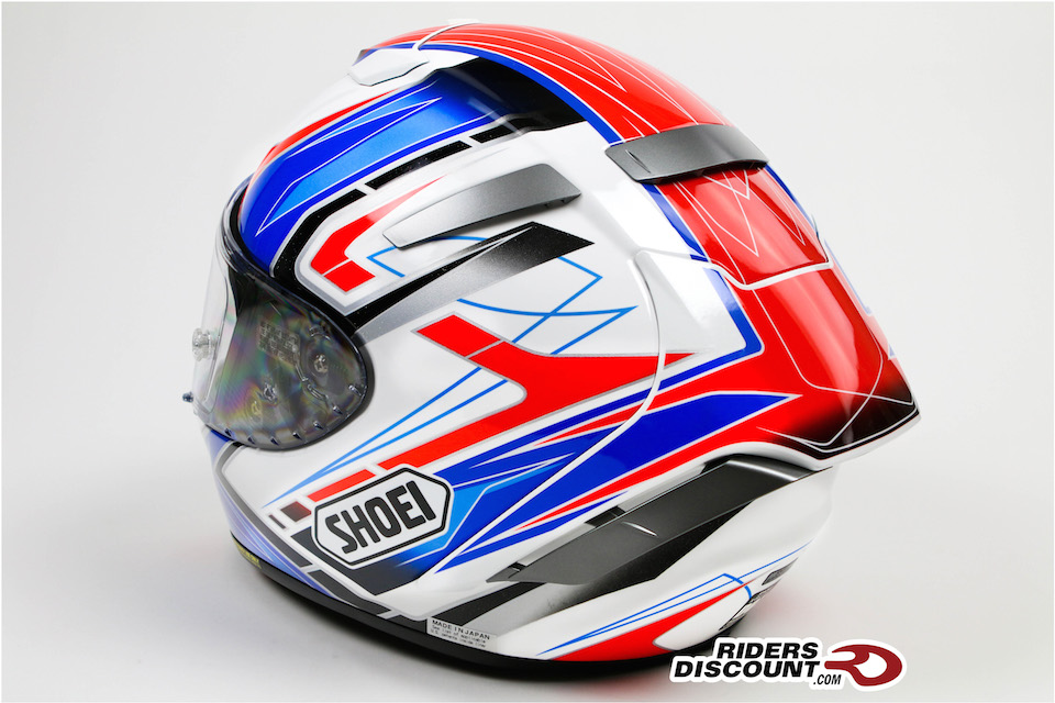 Shoei X-Fourteen Asail TC- 2 Helmet - Click Image For More Information