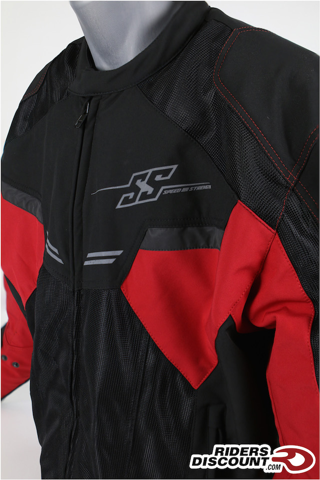 Speed and Strenth 'Power and the Glory' Mesh Jacket - Click Image For More Info - MSRP $179.95