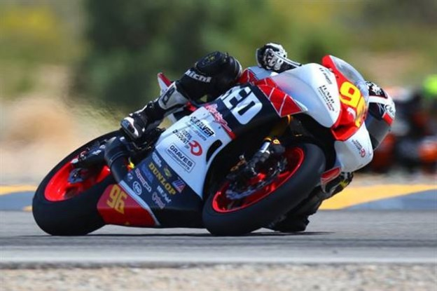 Jason Aguilar at Chuckwalla Valley Raceway - Photo by CaliPhotography.com