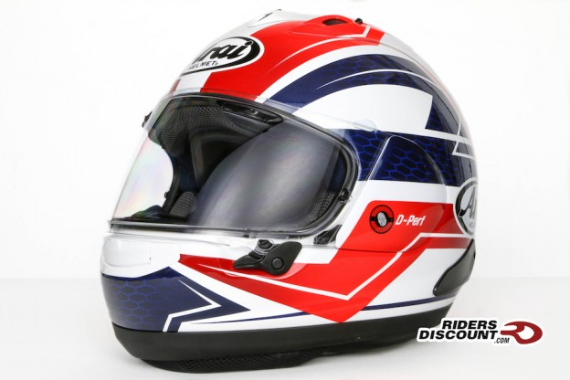 Arai Corsair-X Curve Red Helmet