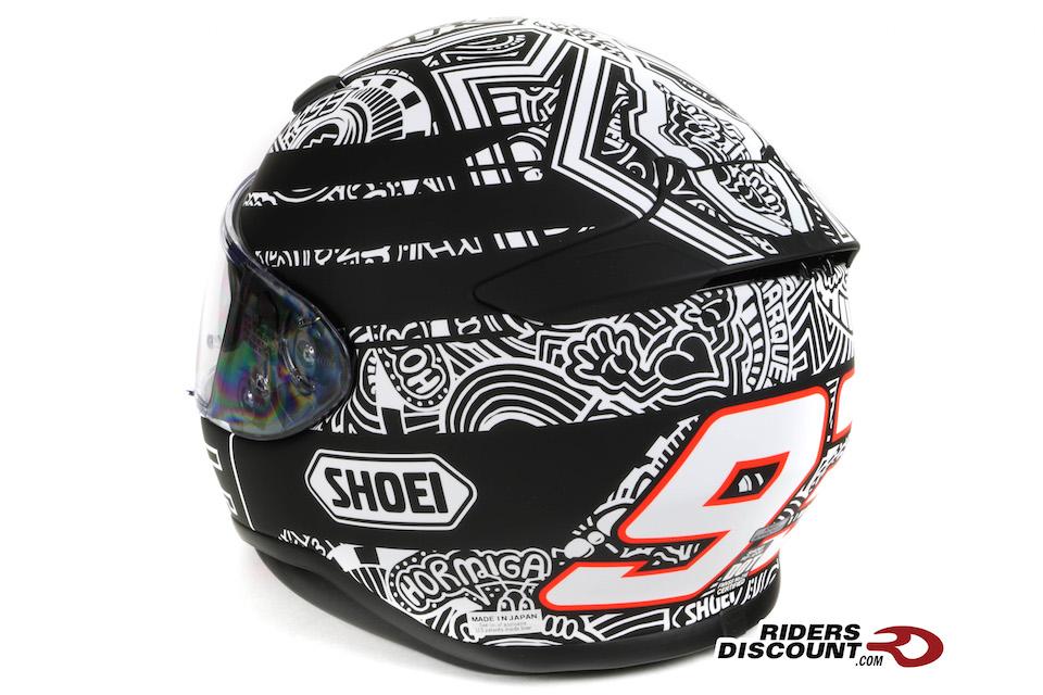 Shoei RF-1200 Marquez Digi Ant TC-5 Helmet - Click Image For More Information
