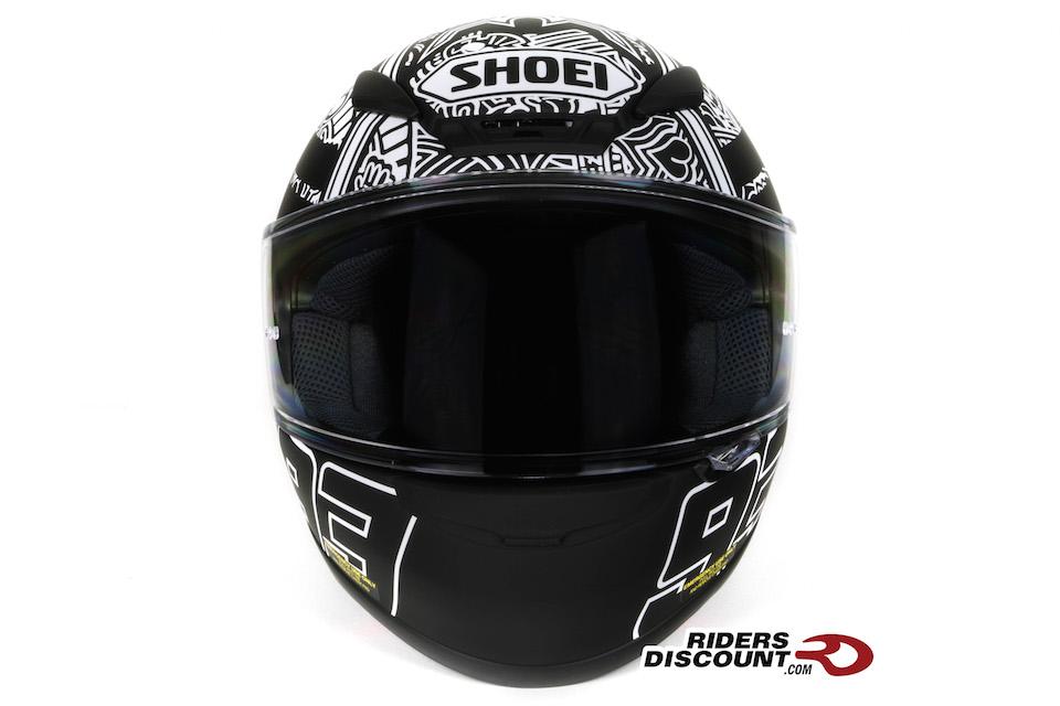Shoei RF-1200 Marquez Digi Ant TC-5 Helmet - Click Image For More Information - MSRP $