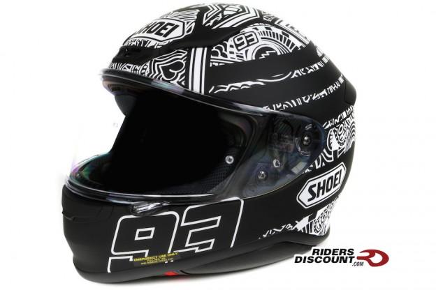 Shoei RF-1200 Marquez Digi Ant TC-5 Helmet