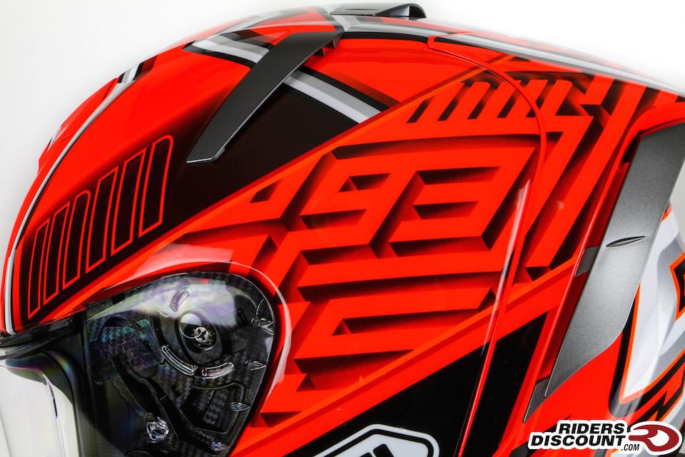 Shoei X-Fourteen Marquez 4 Helmet - Click Image For More Information