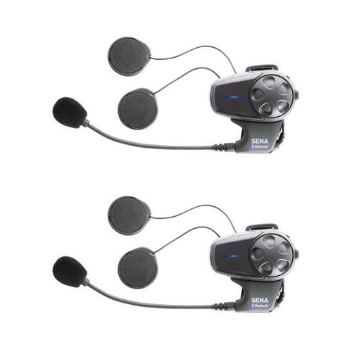 Sena Dual Bluetooth Headset With Universal Microphone - MSRP $399.00
