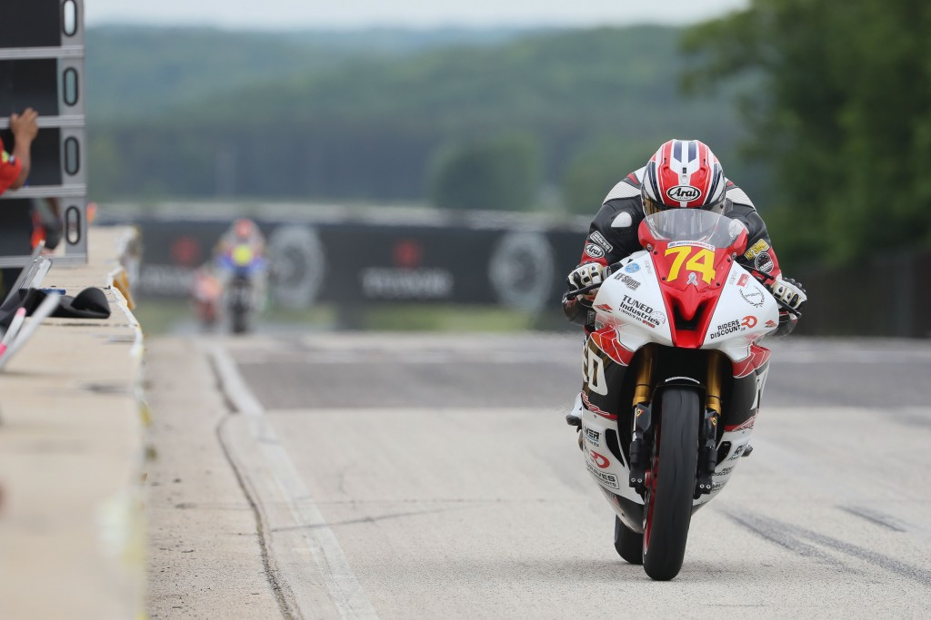 Bryce Prince at Road America by Brian J. Nelson