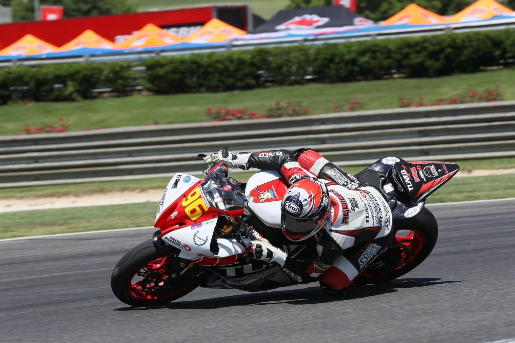 Jason Aguilar at Barber Motorsports Park. Photo by Brian J. Nelson.