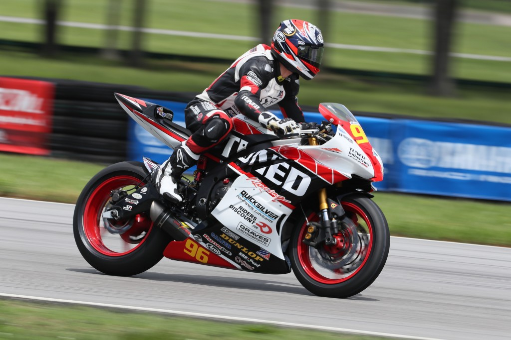 Jason Aguilar at Virginia International Raceway. Photo by Brian J. Nelson.