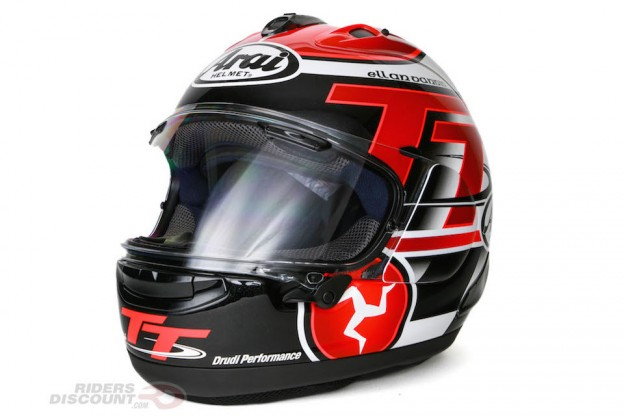 Limited Edition Arai Corsair-X IOM TT 2016 Helmet