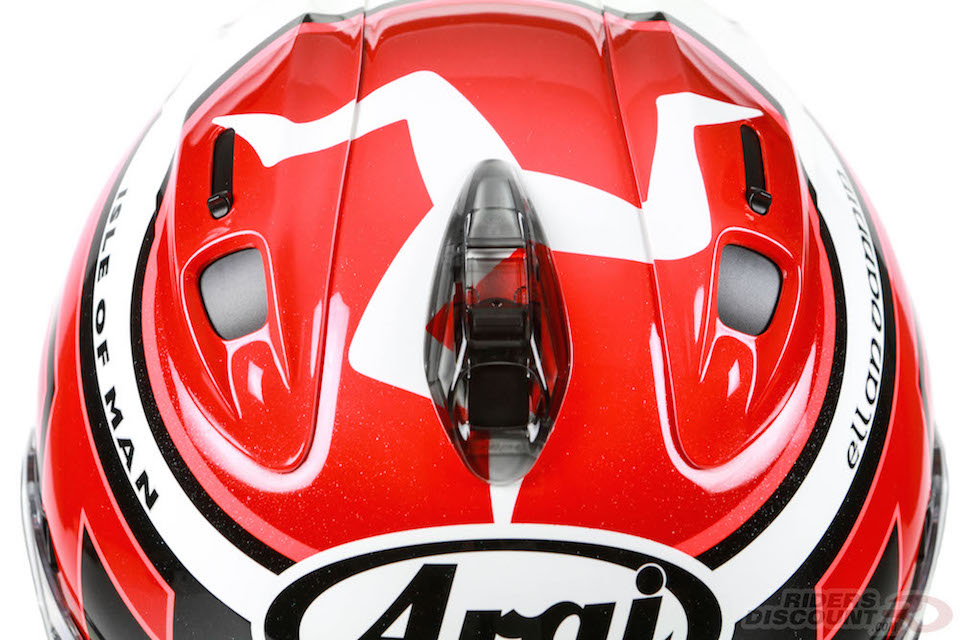 Limited Edition Arai Corsair-X IOM TT 2016 Helmet - Click Image For More Information