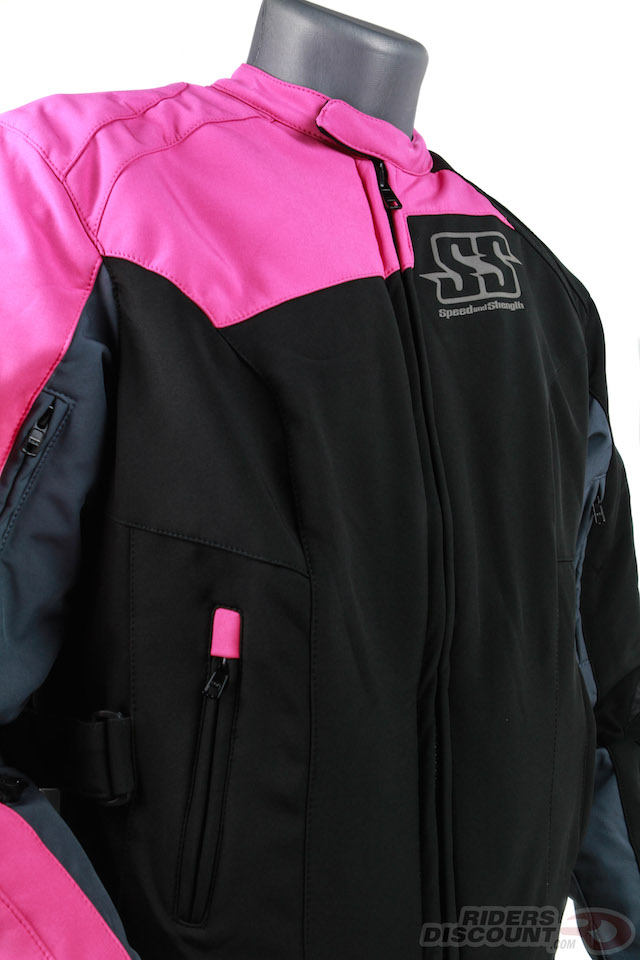 "Speed and Strength ""Backlash"" Women's Textile Jacket - Click Image For More Information - MSRP $179.95"