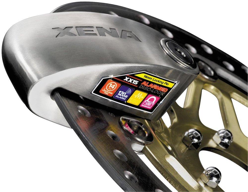Xena Security XX15 Disc-Lock with Alarm - MSRP $109.95