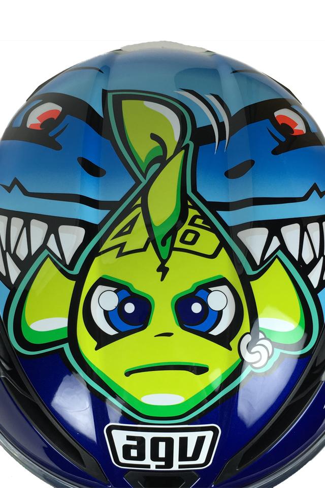 AGV Corsa Rossi Misano 2015 Shark Helmet - Click Image For More Information
