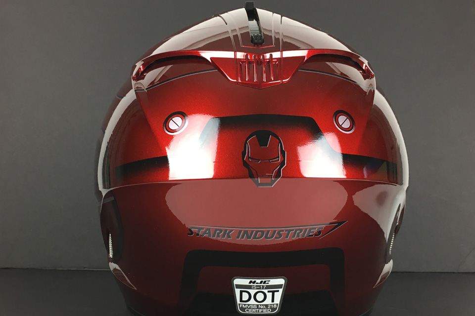 HJC IS-17 Iron Man Helmet - Click Image For More Information