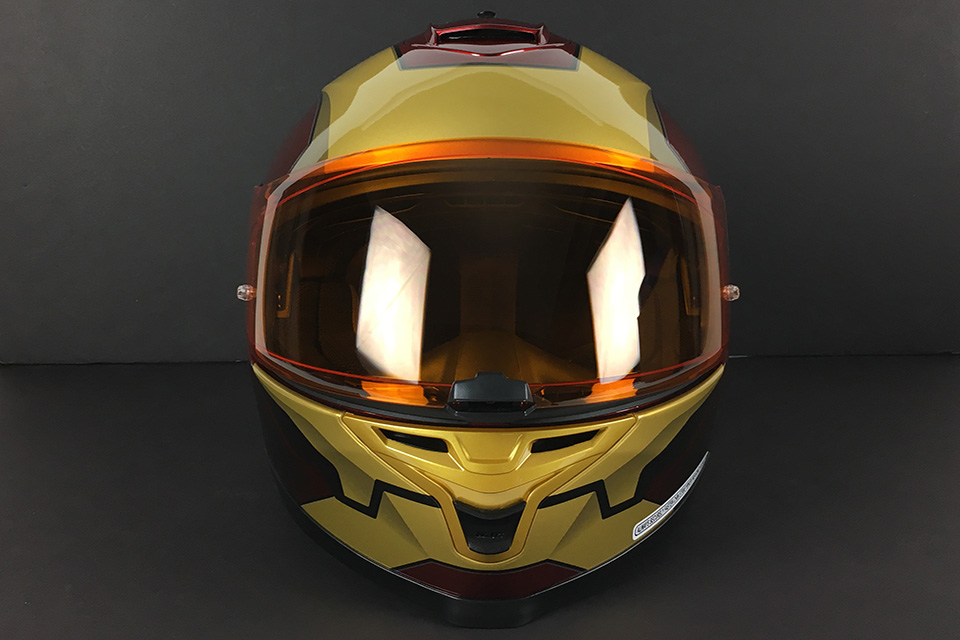HJC IS-17 Iron Man Helmet - Click Image For More Information - MSRP $249.99
