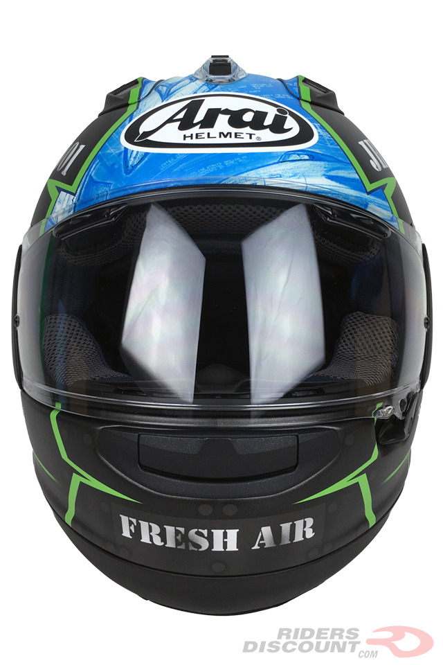Arai Corsair-X Hayes X-15 Helmet - Click Image For More Information - MSRP $969.95