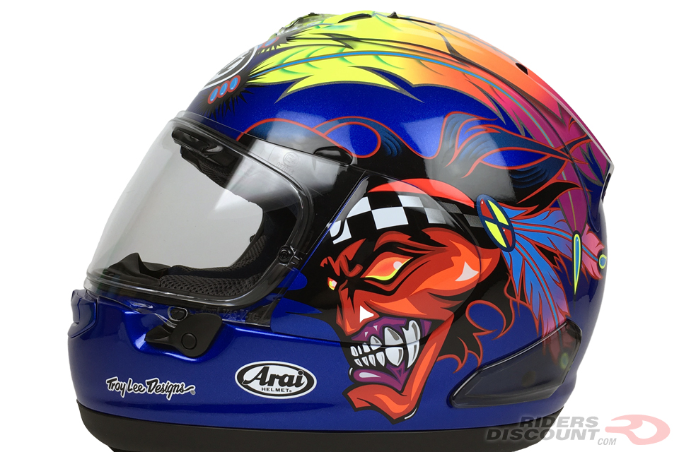 Arai Corsair-X Russell-2 Helmet - Click Image For More Information