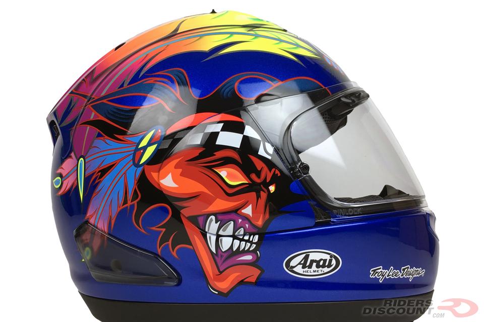 Lightweight Motorcycle Helmet >> Arai Corsair-X Russell-2 Helmet - Riders Discount