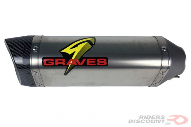 Graves Motorsports WORKS Cat Eliminator Exhaust: Kawasaki Ninja ZX-10R 2016