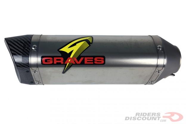 Graves Motorsports WORKS Cat Eliminator Exhaust: Kawasaki Ninja ZX-10R 2016