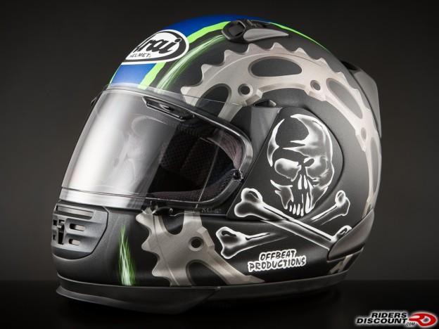 Arai Defiant Jolly Roger 2 Helmet