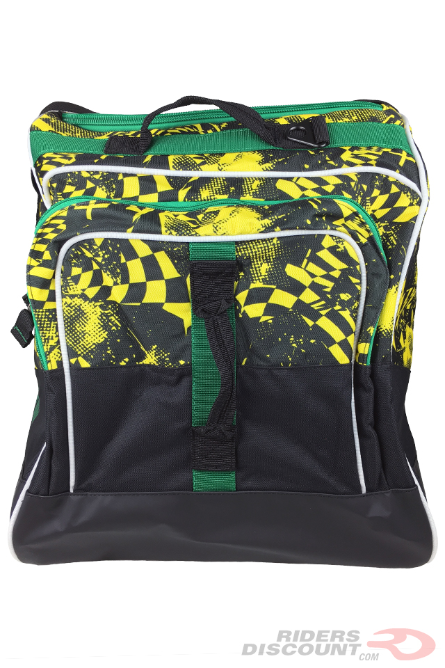 "OGIO Dozer 8600 Gear Bag in ""Finish Line"" - Click Image For More Information"