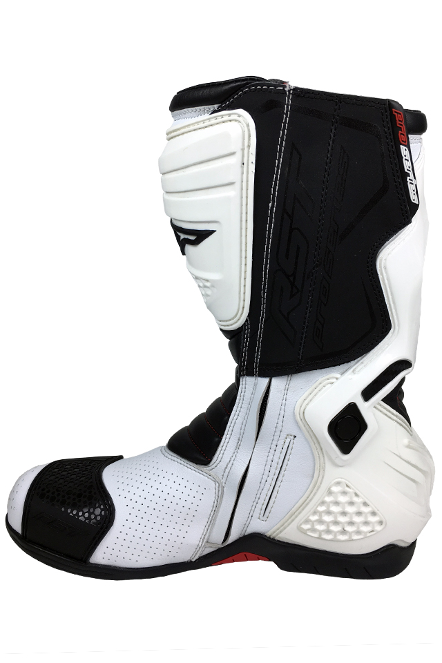 RST Pro Series Race Boots in White