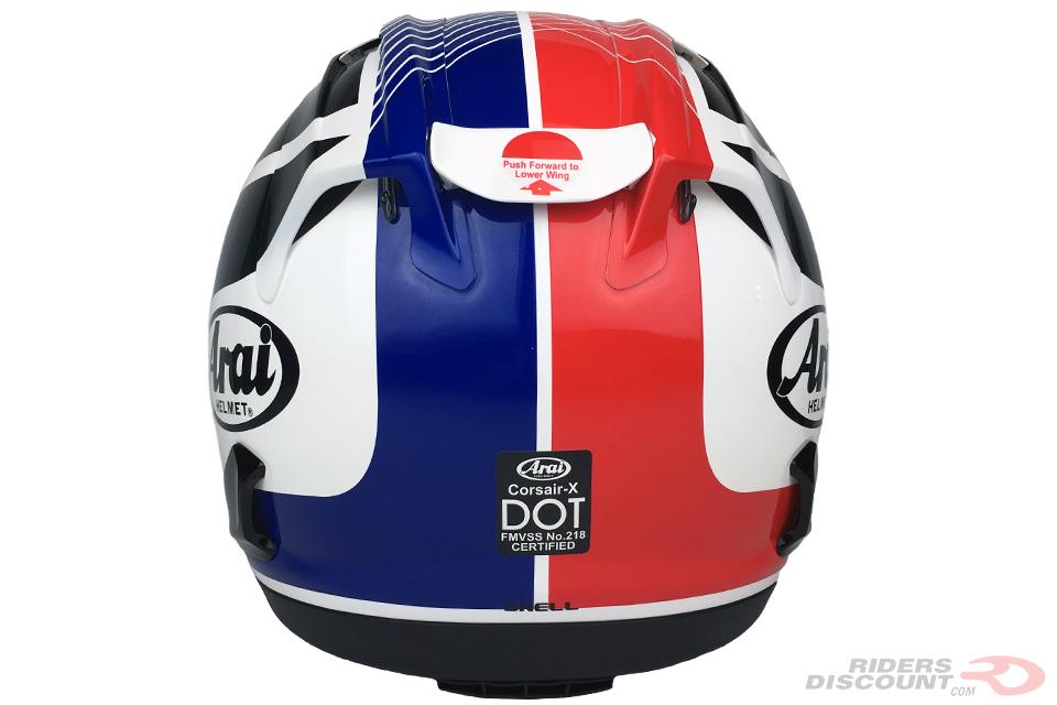 Arai Corsair-X HRC Helmet - Click Image For More Information